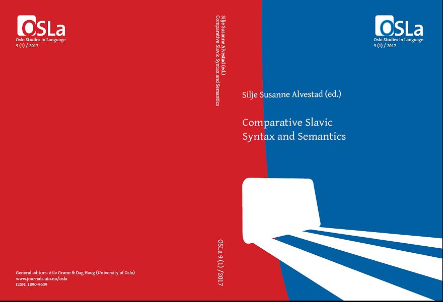 View Vol. 9 No. 1 (2017): Comparative Slavic Syntax and Semantics