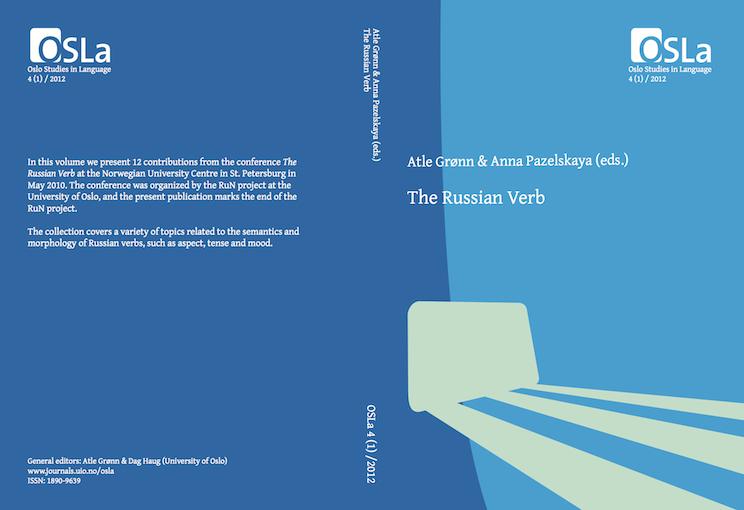 View Vol. 4 No. 1 (2012): The Russian Verb