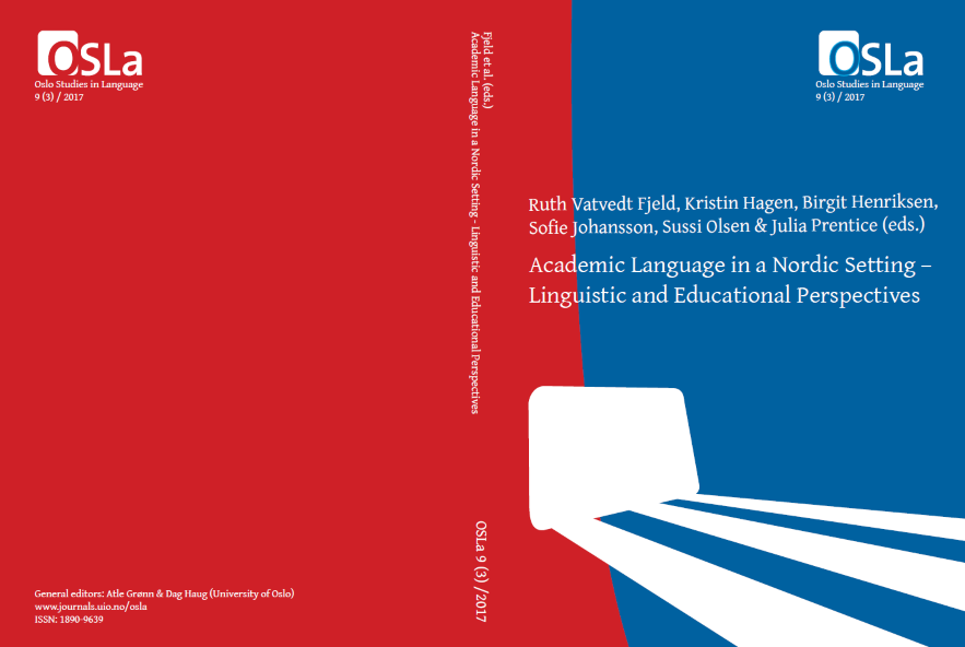 View Vol. 9 No. 3 (2017): Academic Language in a Nordic Setting – Linguistic and Educational Perspectives