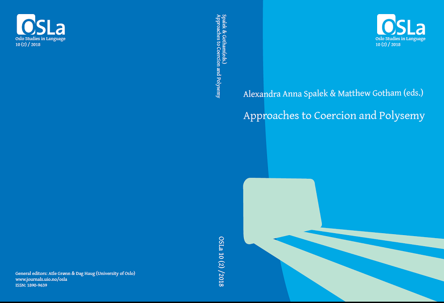 View Vol. 10 No. 2 (2018): Approaches to Coercion and Polysemy
