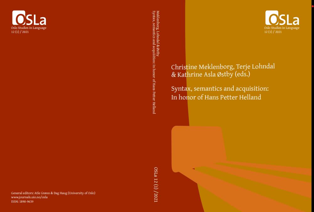 Cover OSLa 12(1), 2021