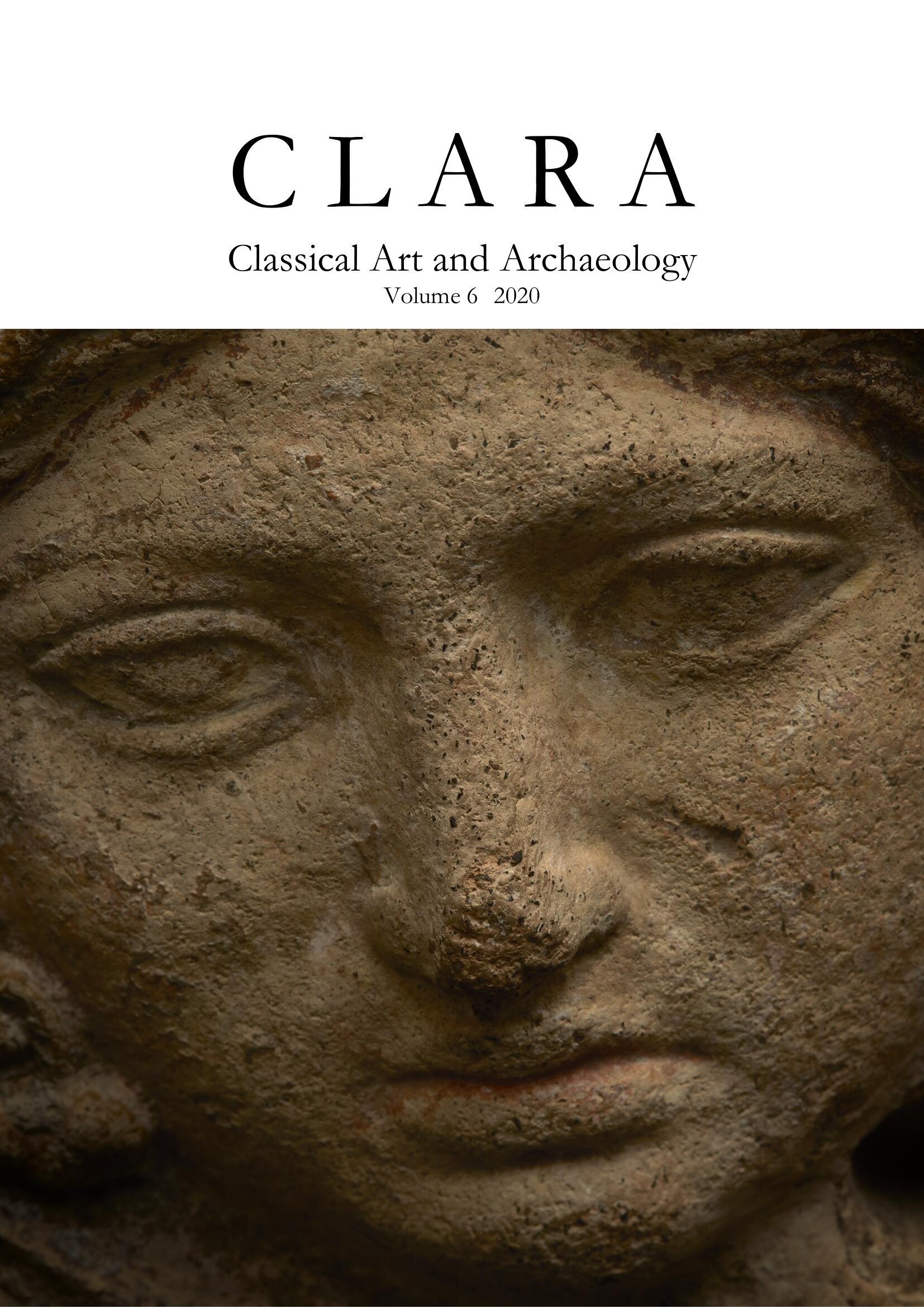 View Vol. 6 (2020): CLARA: Classical Art and Archaeology
