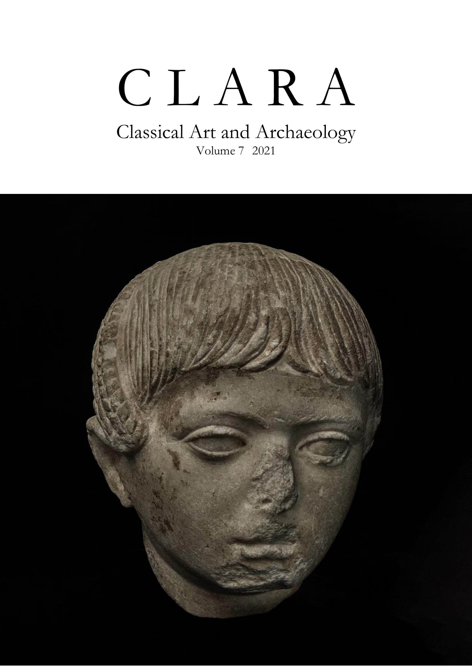 View Vol. 7 (2021): CLARA: Classical Art and Archaeology