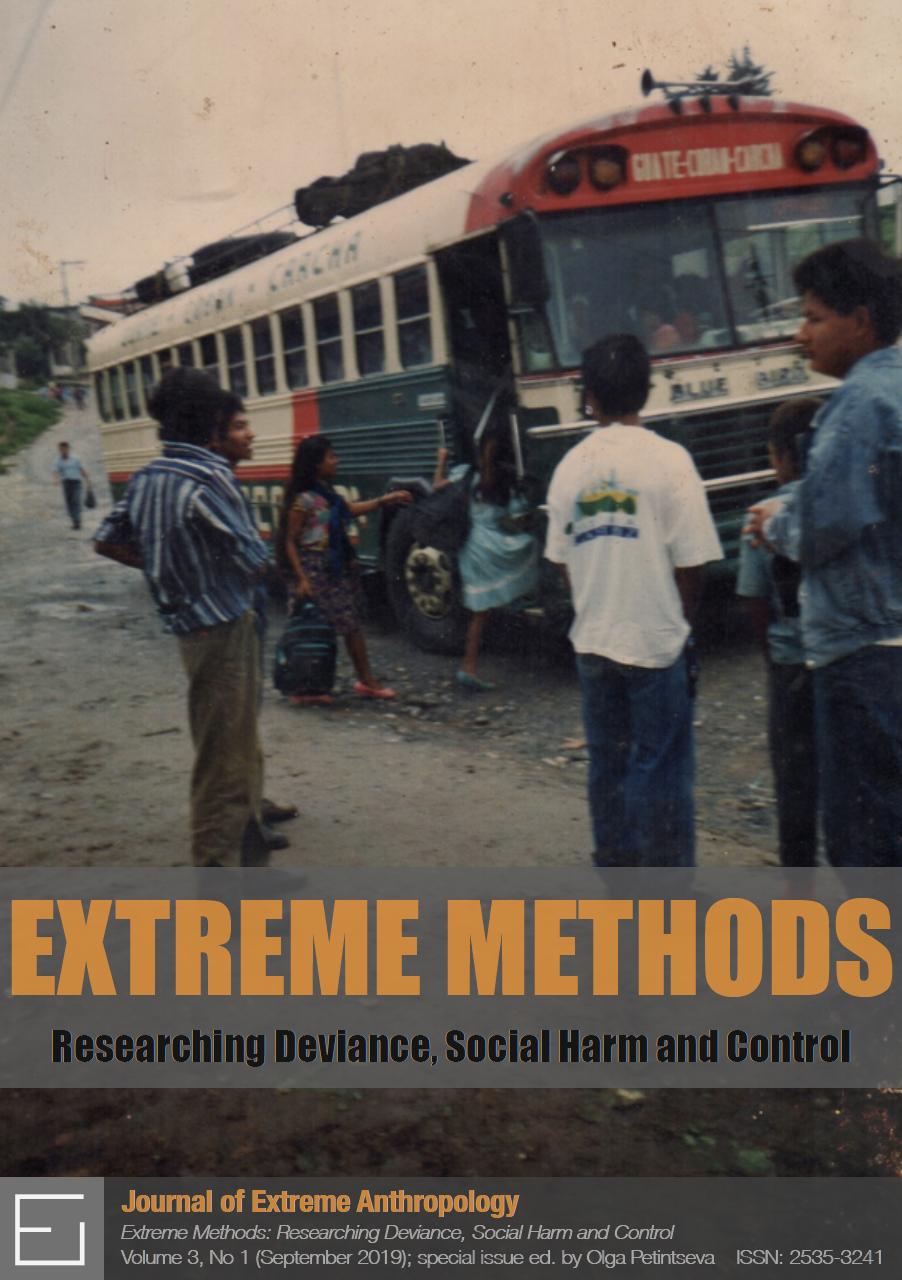View Vol. 3 No. 1 (2019): Extreme Methods: Researching Deviance, Social Harm and Control