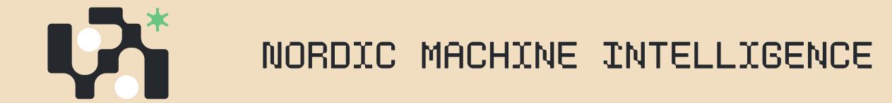 Nordic Machine Intelligence