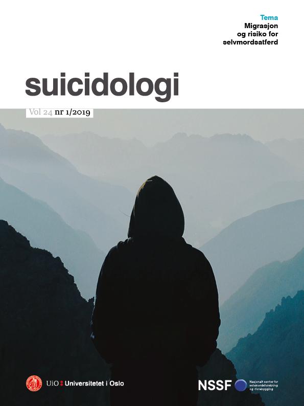 Se Vol 24 Nr 1 (2019): Migrasjon og risiko for selvmordsatferd