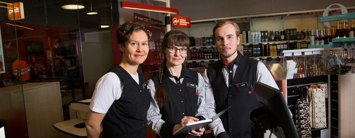Foto till texten 'Övervakning av försäljningen ger spelregler för alkoholförsäljningen' på Alkos webbplats (foto: Ville Rinne).